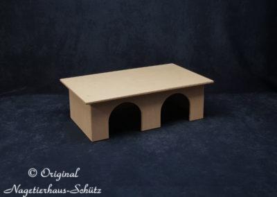 Nagetierhaus Schütz Meerschweinchenhaus groß 2 Eingänge