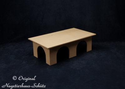 Nagetierhaus Schütz Meerschweinchenhaus groß 4 Eingänge